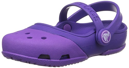 Crocs Electro II, Mädchen Mary Jane Halbschuhe, Violett (Neon Purple/Ultraviolet 5C5), 20/21 EU