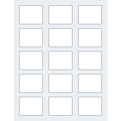 Dashleigh 75 rectangle clear labels for 10 ml roll on for 2 125 x 1 6875 label template
