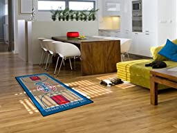 Exclusive By FANMATS NBA - Los Angeles Clippers Large Court Runner