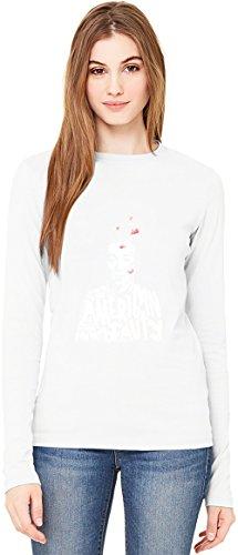 American beauty poster T-Shirt da Donna a Maniche Lunghe Long-Sleeve T-shirt For Women| 100% Premium Cotton Ultimate Comfort Medium