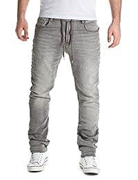 Yazubi Homme Jean Vetement Jogging Pantalon Sweatpants in Jeans