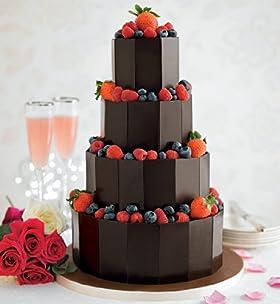 Dark Chocolate Plaque Cake
