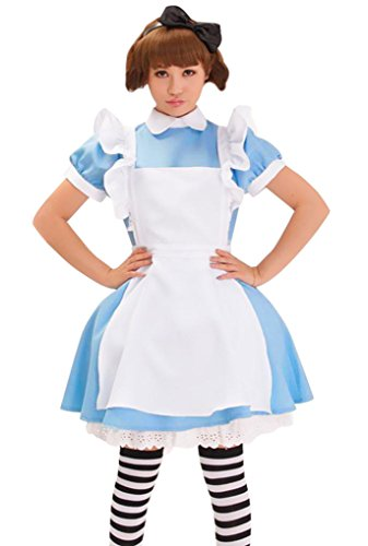 Simplicity Women Cute Maid Costume w/ Dress, Apron, and Headpiece