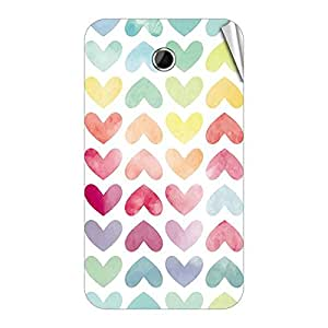 Garmor Designer Mobile Skin Sticker For Lenovo A388T - Mobile Sticker