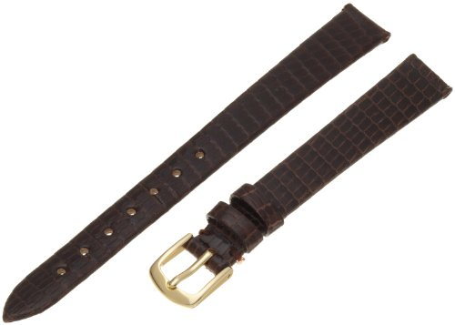 Hadley-Roma Women'S Lsl700Lb 120 Genuine Java Lizard Strap Watchband