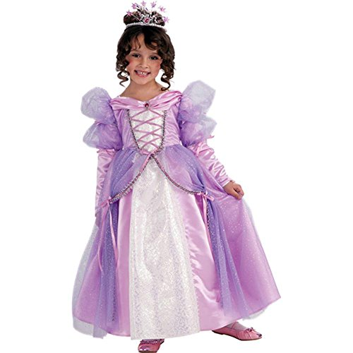 Rubie'S Let'S Pretend Lavender Princess Costume - Toddler (1- 2 Years) front-500889