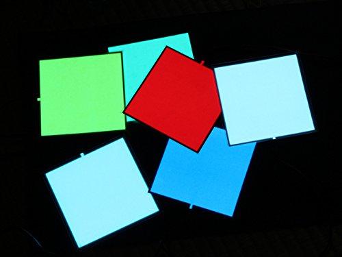 有機ELパネル 6色セット 10cm x 10cm OLED 自由に折り曲げ、カット可能