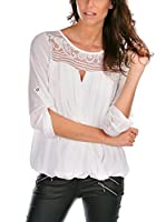 FRENCH CODE Blusa Alice (Blanco)