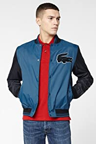 L!VE Taffeta Bomber Jacket With Applique Croc