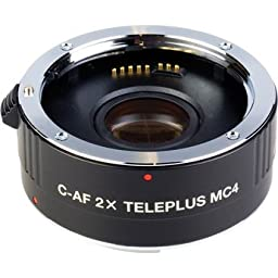 Kenko 2X TelePlus 4 Element MC4 DGX Teleconverter For Nikon Digital SLRs