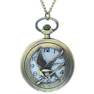 Los Juegos del Hambre logotipo fresco Embalaje Original Hunger Games Design Relojes marca FobTime