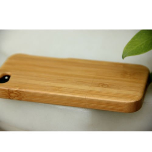 New Bamboo Wood Wooden cell phone case cover Shell for iPhone 4 4S Hot Sale
