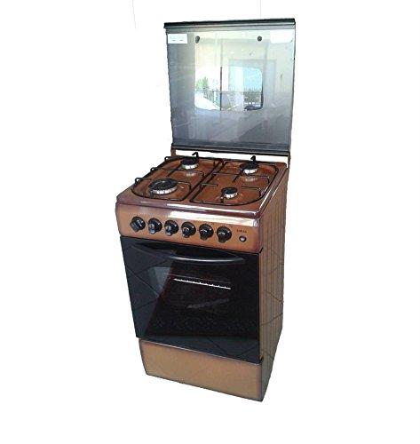 Avec four cuisine au gaz naturel ou gpl 4 feux valvolati for Cuisine gaz ou electrique