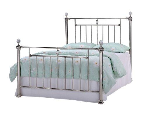 Simple ACME F Trissa Bed Frames Full Nickel Finish