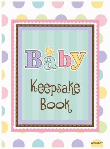 Amscan Tiny Bundle Baby Shower Keepsake Book - 1