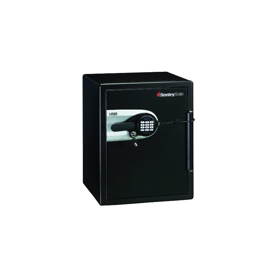 SentrySafe QE5541 Fire Safe Water Resistant Safe with USB Powered Connectivity, 2.0 Cubic Feet, Black