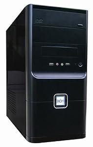 CIT CSCIT1007 Micro ATX Case NEW Design 24pin SATA 450W - Black