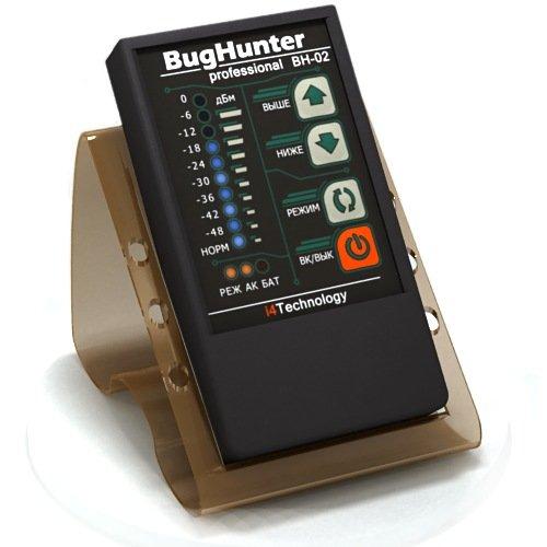 Highly Sensitivity Rf Detector Bug Hunter-2 Professional Gsm Scanner Anti-Spy Bh-2 Hidden Wireless Camera Finder