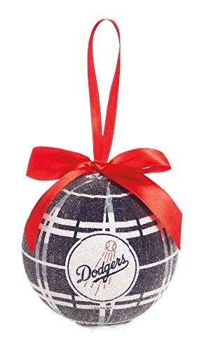 100Mm Led Ball Ornament, Los Angeles Dodgers