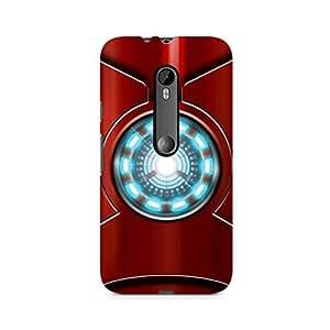 Ebby Iron Man's Heart Premium Printed Case For Moto X Play