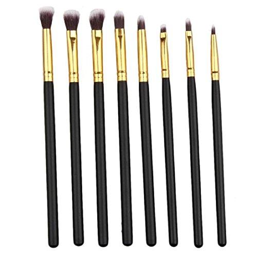 Orangeskycn 8PCS Make up Brushes Set Eye Brushes Set Eyeliner Eye Shadow Makeup Brushes (Sigma Detail Brush compare prices)