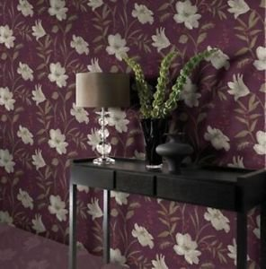 Gran Deco Elise Wallpaper - Taupe by New A-Brend