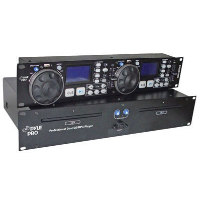 Pyle-Pro PDCD510MU - Professional Dual DJ CD/MP3 Player with USB Input