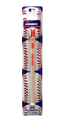 MLB Boston Red Sox Pursonic Baseball Bat Toothbrush at Amazon.com