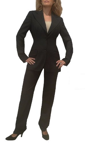 Newly Released Dolce & Gabbana Black Classic Pant Suit