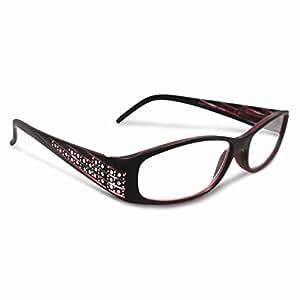 rhinestone 2 75 magnification reading glasses