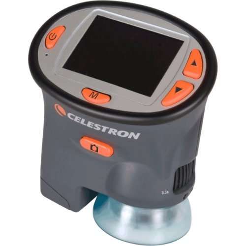 Celestron Lcd Handheld Digital Microscope With Lcd Screen