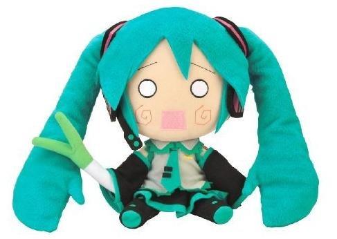 Official Nendoroid Vocaloid Series 02 Plush Toy – 12″ Hachune Miku (Japanese Import) image