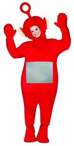 Rasta Imposta Teletubbies Adult Po Costume, Red, One Size
