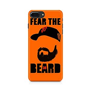 NXT GEN Fear the Beard Bud Premium Printed Mobile Back Case For Apple iPhone 7 Plus