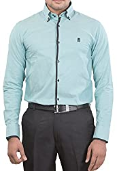 Unkonventional Men's Casual Shirt (unkimpgrezzm_Light Green_38)