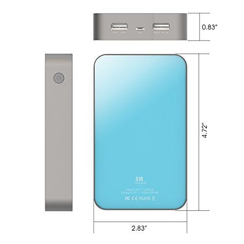 Kayo-Maxtar-S16-13000mAh-Dual-USB-Port-Power-Bank