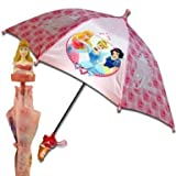 (2011) Licensed Disney Princess Aurora Deluxe Kids Rain Umbrella w/ 3D Molded Handle