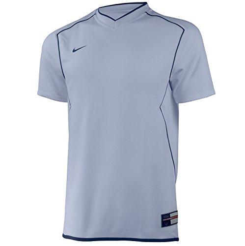 Nike Men's Dri-Fit Short-Sleeved Basketball Jersey Tank To White
