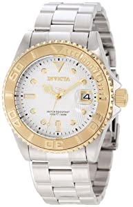 Invicta Men's 12836 Pro Diver Automatic Silver Dial Watch