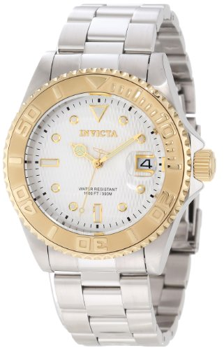 Invicta Men's 12836 Pro Diver Automatic Silver
