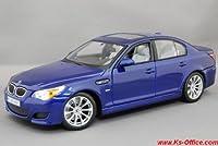 【BMW】M5(ブルー)1/18モデルカー(ミニカー)