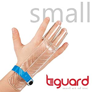Treatment Kit to Stop Finger Sucking by TGuard brand FingerGuard (Size Small: Ages 0-4)