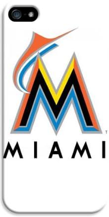 【iphone5/5s 専用ケース 人気】「MLB」野球 Miami Marlins スーパースリム耐衝撃保護ケース