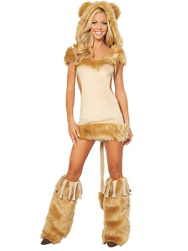 Courageous Lion Women's Sexy Costume