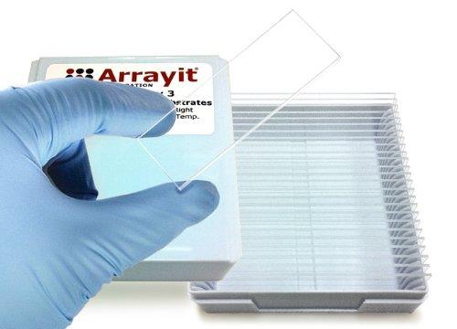Arrayit® Superclean 3 Microarray Slides