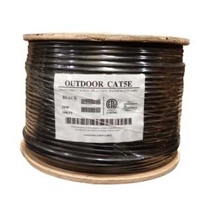 InstallerParts 1000 Ft CAT 5E 350MHz Direct Burial Outdoor High Performance CM/CL2 Type UL/CSA Listed Data Cable -- Black Jacket (Wire Pulling Gel compare prices)