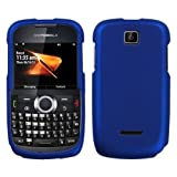 Blue Rubberized Hard Phone Cover for Motorola Theory / WX430 (Boost Mobile) Protector Case