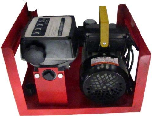 Zyb-60 110V Analog Fueling Station 15.8 Gpm Pump Fuel Meter For Diesel Fuel, Kerosene And Home Heating Oil