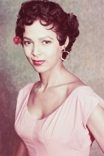 Dorothy Dandridge In Pink Dress 24X36 Poster