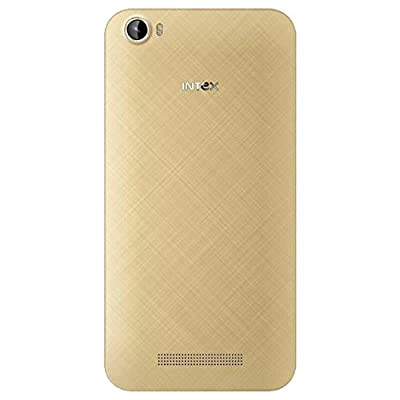 Intex Cloud Swift Smart Phone, Champagne